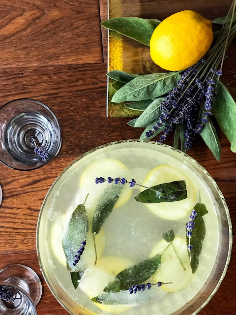 Sparkling Aromatic Lavender Punch