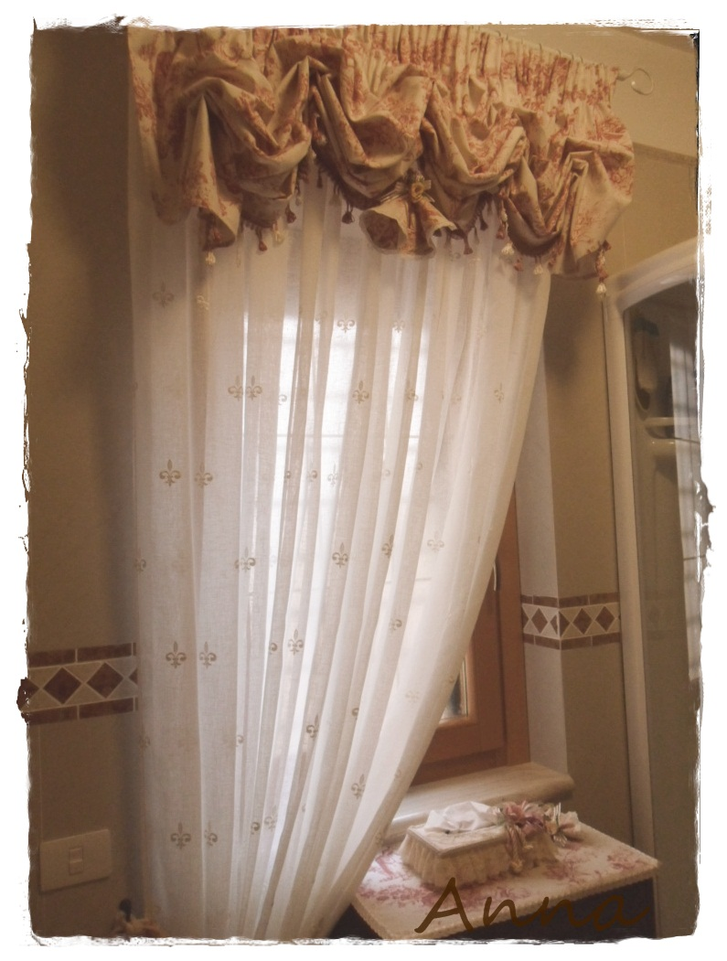 Lecosemeravigliose shabby e country chic passions shabbychic home tende toile de jouy - Tende country per camera da letto ...
