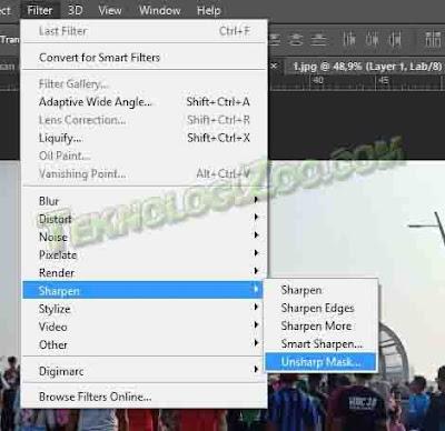 cara memperbaiki foto yang blur di laptop