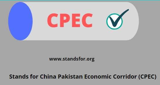 CPEC-China Pakistan Economic Corridor