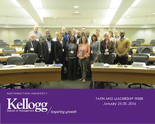 Faith and Leadership participants