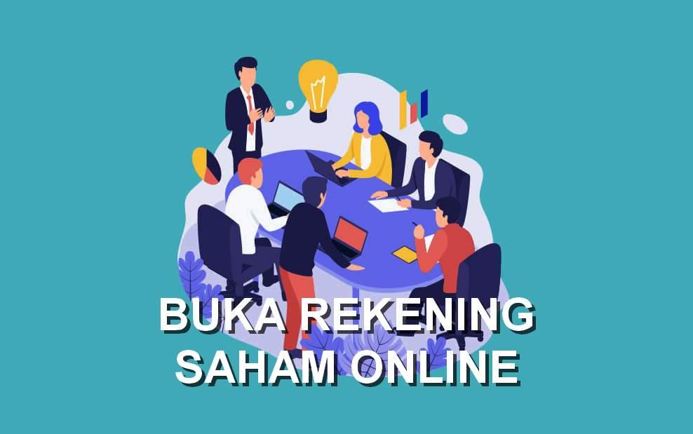 Cara buka rekening saham online (markey.id)