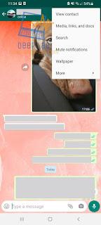 كيفية البحث بسهولة عن الرسائل والوسائط في محادثات واتساب