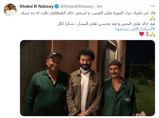 أول ظهور لـ خالد النبوي بعد تعافيه من فيروس كورونا
