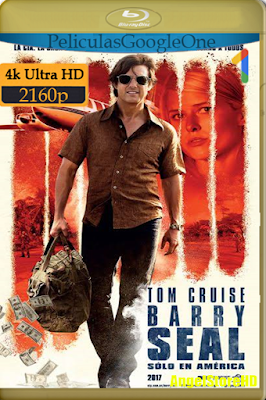 Barry Seal: Sólo En América (2017) [4K UHD [HDR] [Latino-Inglés] [Google Drive] – By AngelStoreHD