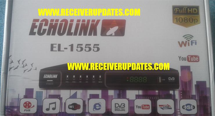 ECHOLINK EL-1555 HD RECEIVER NEW SOFTWARE TEN SPORTS OK