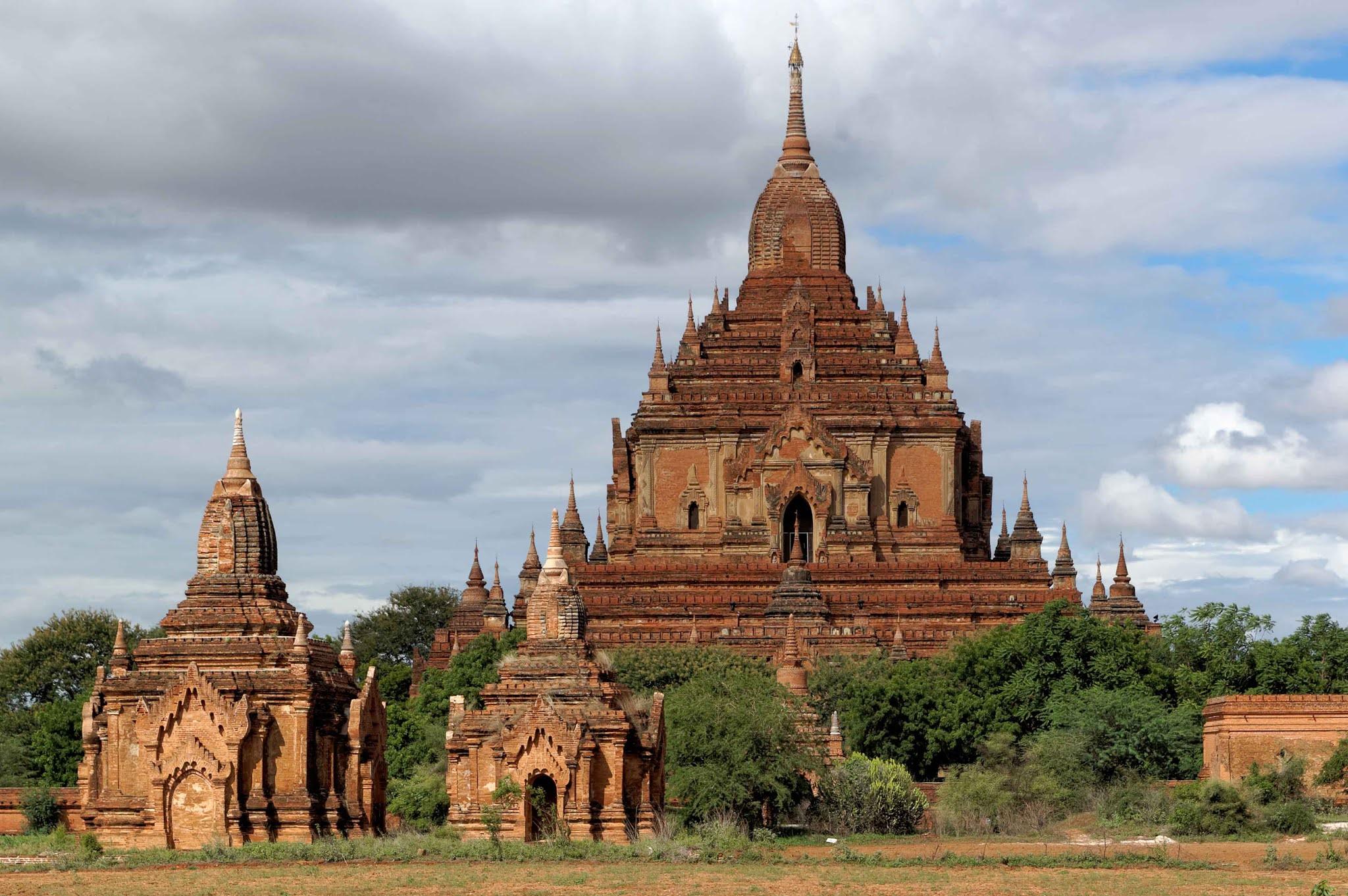 Храм Хтиломинло в Багане, Мьянма