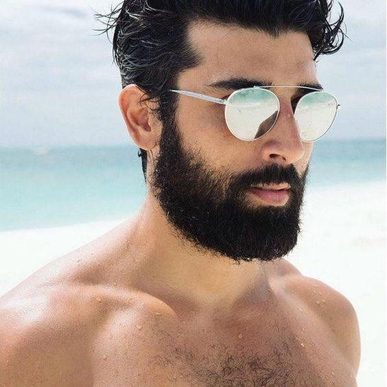 Look Masculino Carnaval 2018 óculos de  sol