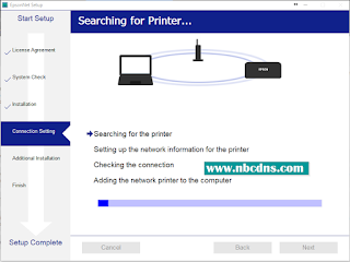 Cara Setting WIFI Printer Epson L-Series Semua Tipe Printer
