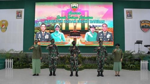 Pangdam I/BB Pimpin Upacara Tradisi Korps Penerimaan, Sertijab dan Tradisi Korps Pelepasan Irdam