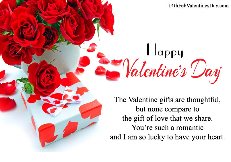 Happy Valentineu0027s Day Card Sayings For Wife And