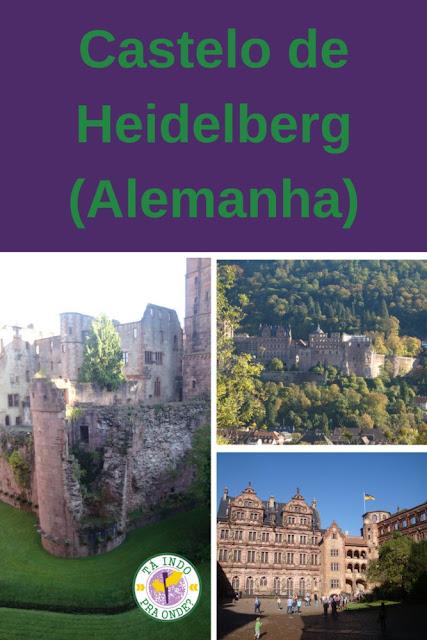 O castelo de Heidelberg (Alemanha)