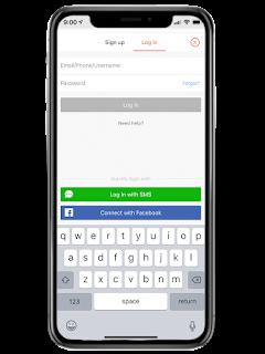 Buat username dan pasword