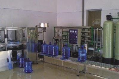 Hệ thống nước đóng bình