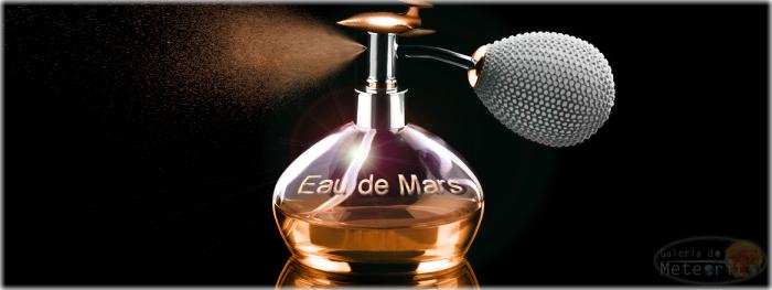qual é o cheiro de Marte