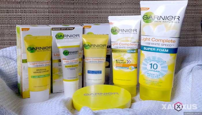 Cream pemutih wajah yang aman dan bagus - Garnier Light Complete