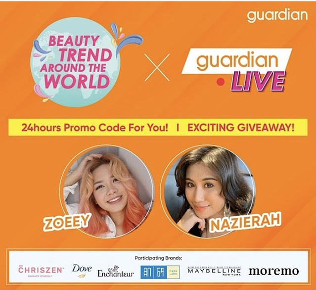 Guardian Global Beauty Sale, Guardian Malaysia, Guardian,  Latest Beauty Trends From Around The World, Beauty