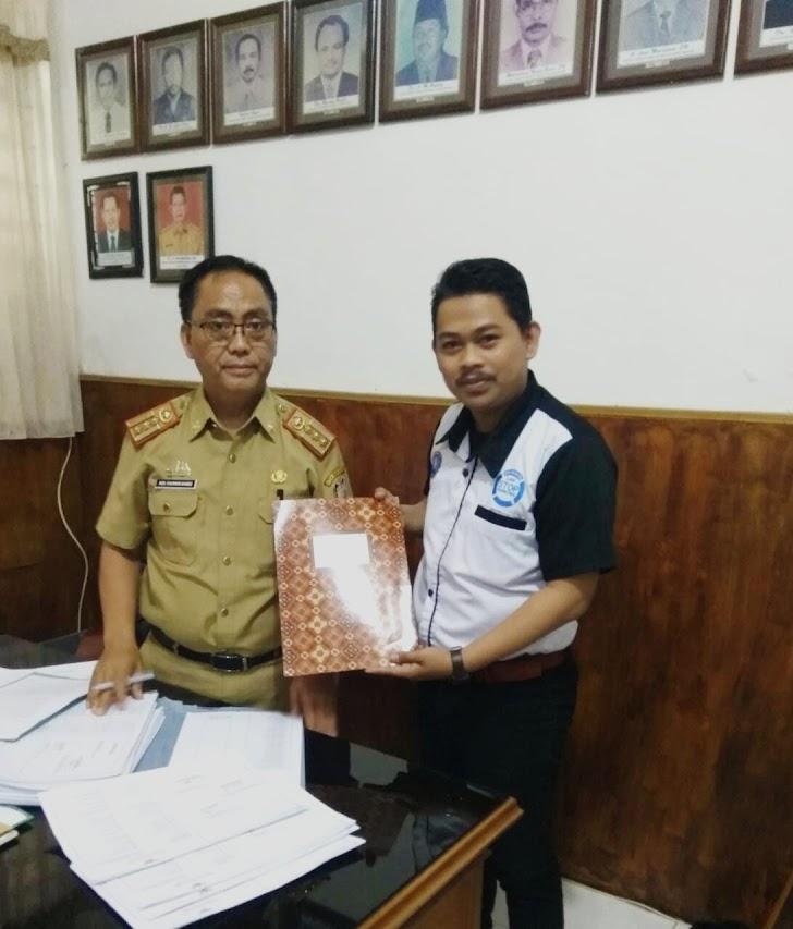 Ketua DPD LAN Sulsel Diterima Oleh Kadisdik Kota Makassar
