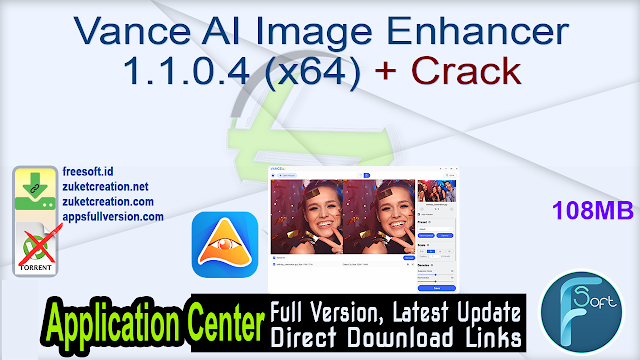Vance AI Image Enhancer 1.1.0.4 (x64) + Crack