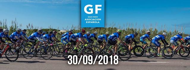 Ciclismo - 106k o 65k Gran fondo Asociación española (Montevideo y Canelones, 30/sep/2018)