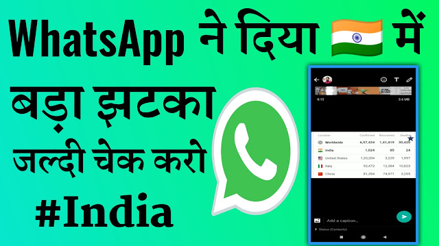Indians, Whatsapp Is Limiting Status 15sec