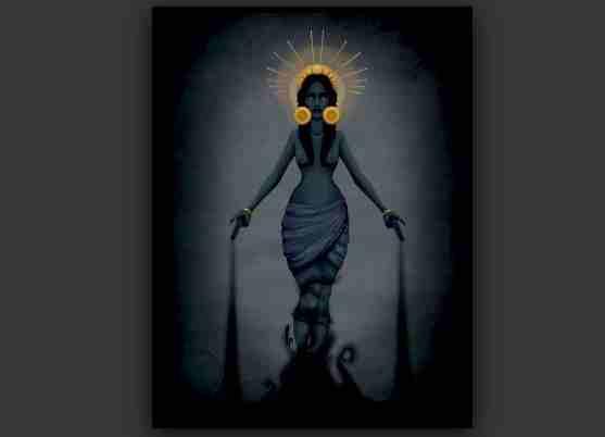 diosa ereshkigal