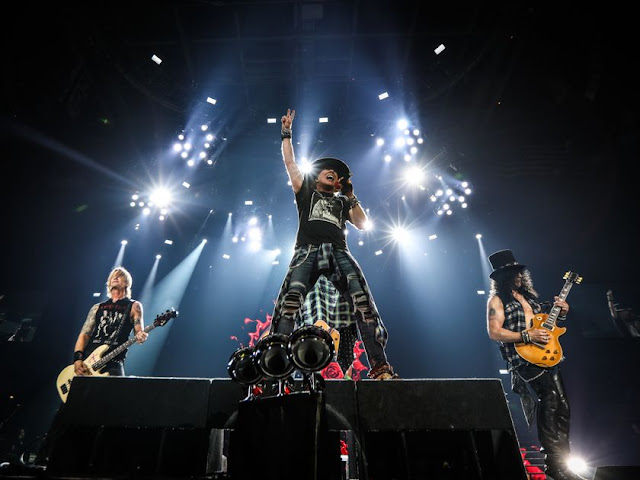Guns N' Roses - Air Canada Centre, Toronto, Ontario, Canadá 29/10/2017