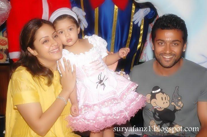 Surya Jyothika's Daughter Diya