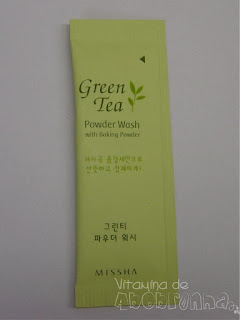 Missha Green Tea Powder Wash with Baking Powder