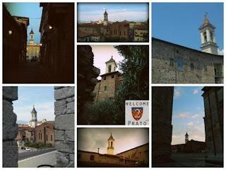 Collage di immagini del Campanile della Chiesa