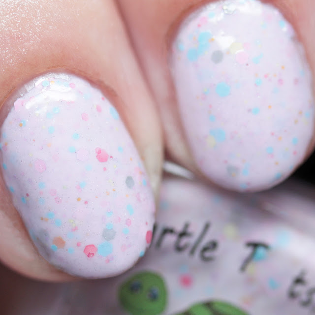 Turtle Tootsie Polishes Cupcakes