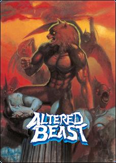 Portada Altered Beast