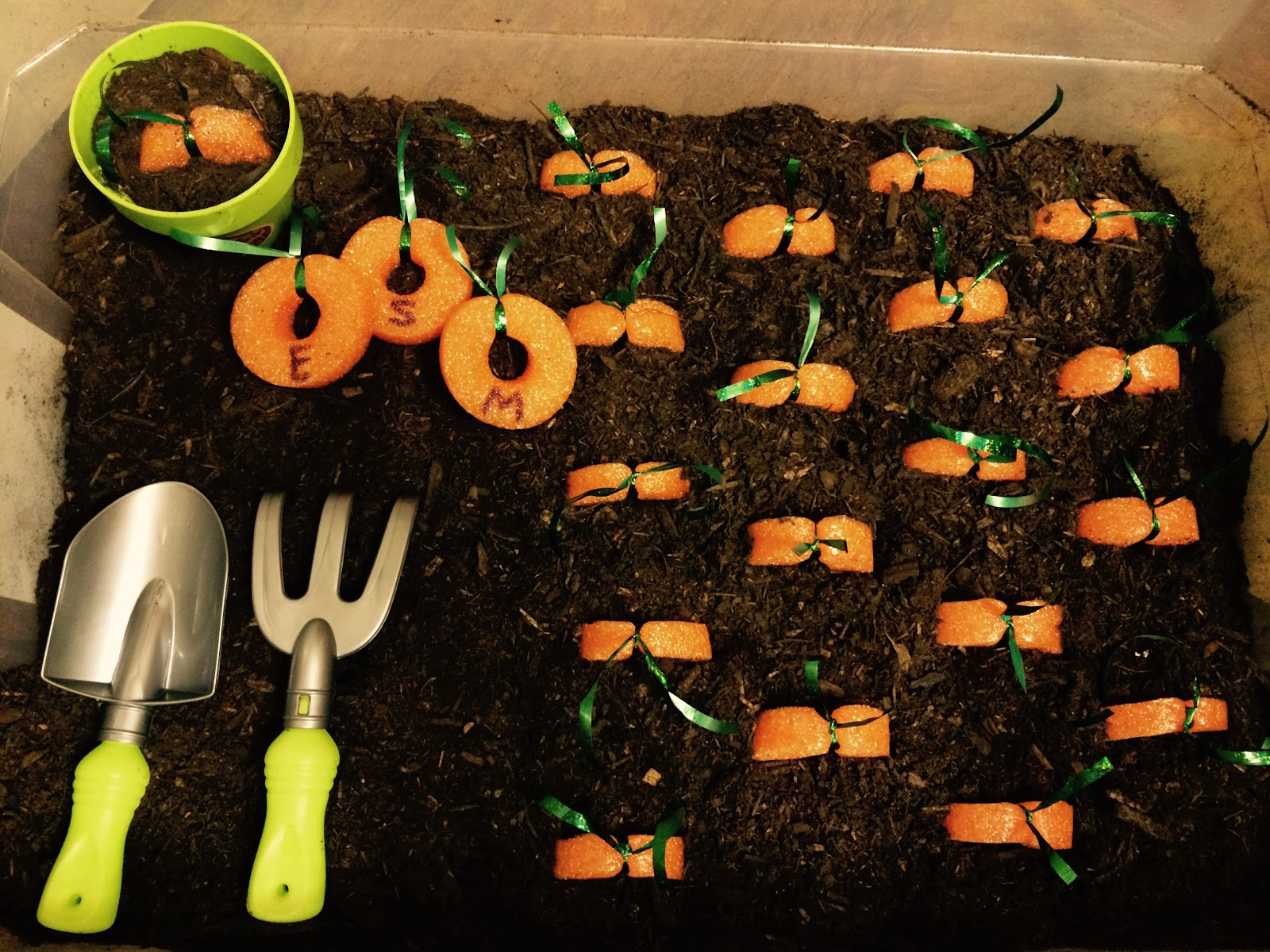 Letters Garden: News With Naylors: Letter V: Vegetable Letter Garden