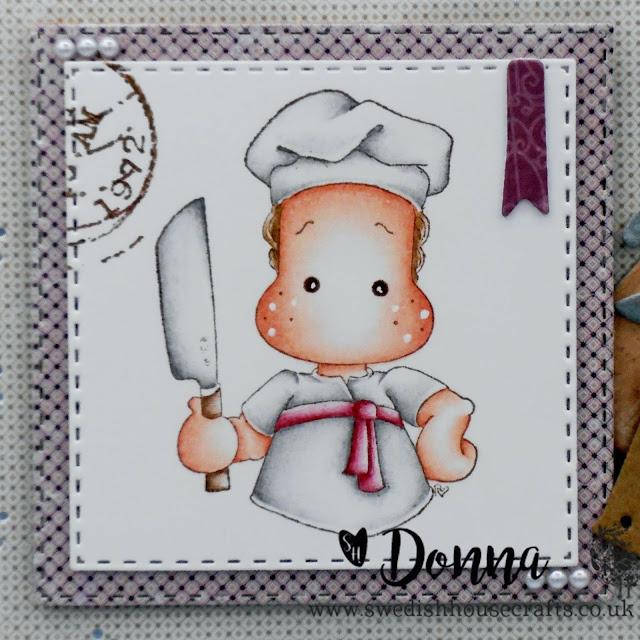 Chef Edwin Recipe Card |  By Donna