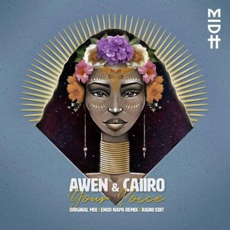"""Já disponível na plataforma Dezasseis News, o single de """"Caiiro & Awen"""" intitulado """"Your Voice"""". Aconselho-vos a conferir o Download Mp3 e desfrutarem da boa música no estilo Original Mix."""