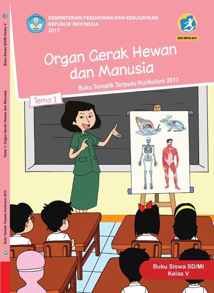 Buku Siswa Tematik SD Kelas V Tema 1 Organ Gerak Hewan dan Manusia