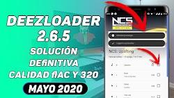 DEEZLOADER 2.6.5 ULTIMA VERSION SIN ERRORES MAYO 2020 / SOLUCIÓN DEEZLOADER ERRORES DE DESCARGA