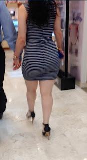 Mujeres maduras caderonas buenas curvas vestidos entallados