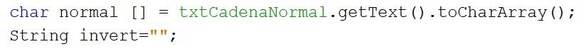 Imprimir una cadena de caracteres invertida en Java