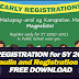 Early Registration SY 2020-2021 (Tarpaulin, Registration Form)