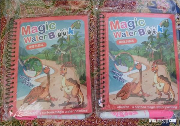 Magic water book murah untuk Iman dan Amin