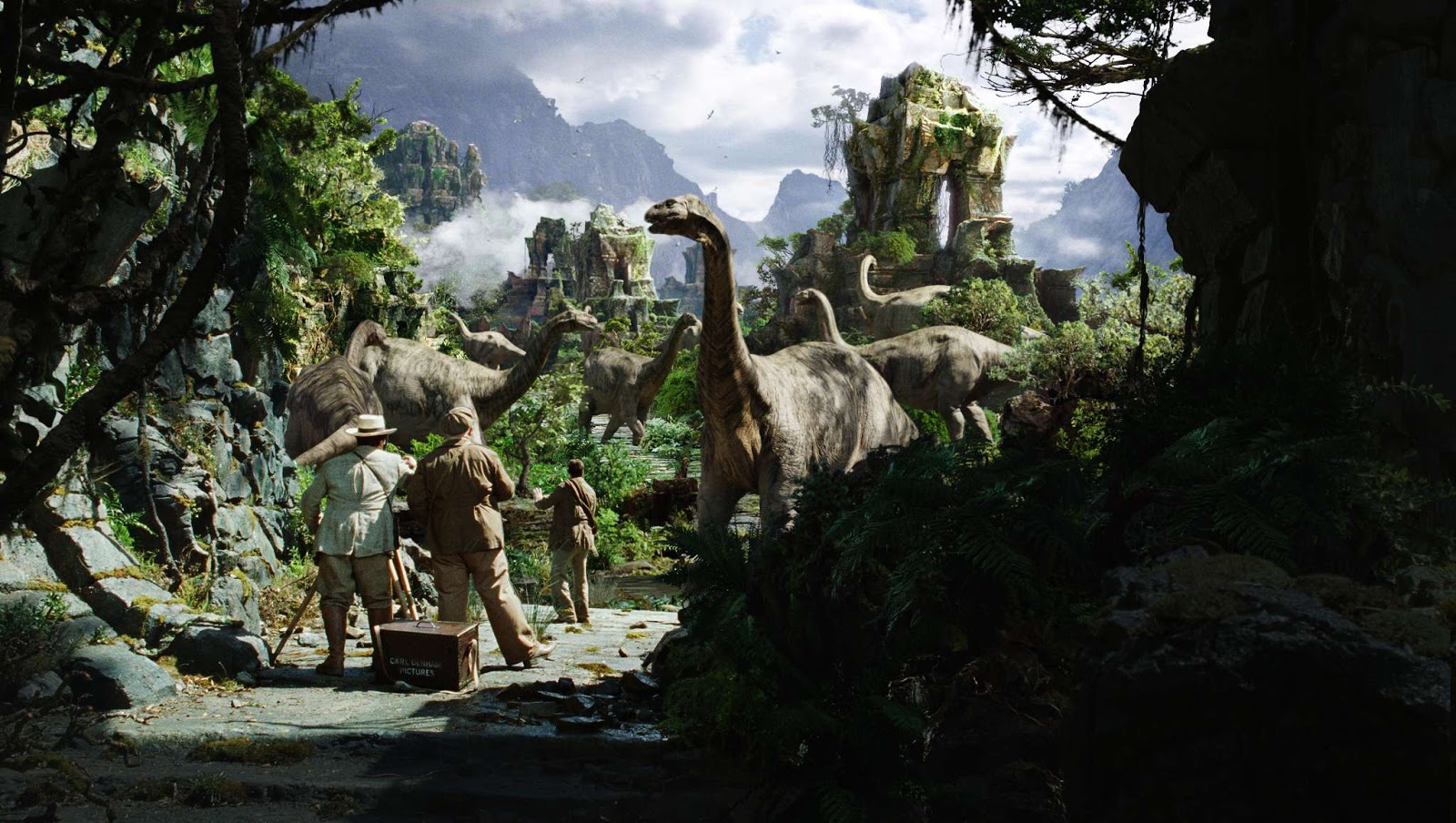 Skull Island Teaser Reveals King Kong Remake At Comic Con: Trek Collective Multiverse: New King Kong Movie, Skull