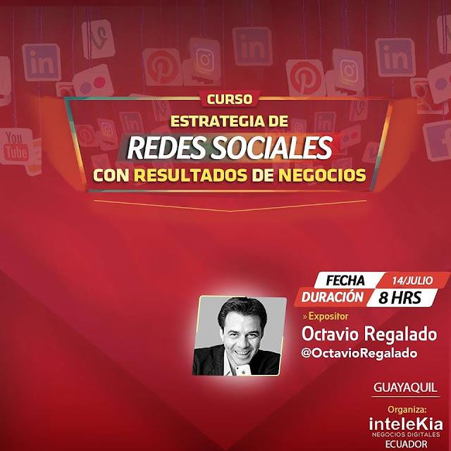 Curso de estrategias de Redes Sociales con resultados de negocios en Guayaquil