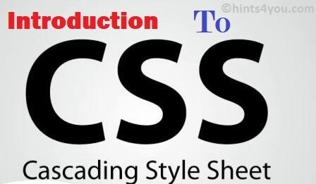 Introduction To CSS - Created By World Wide Web Consortium