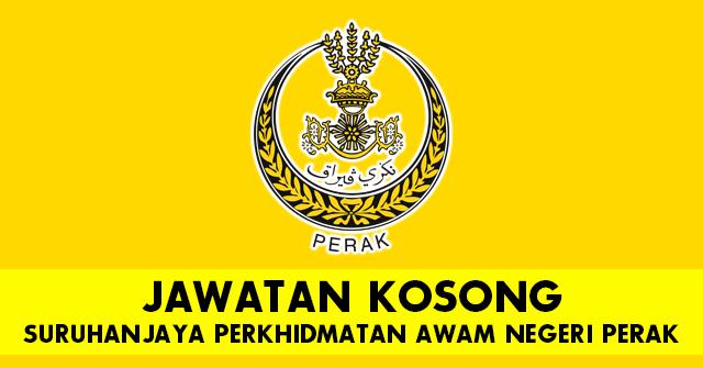 Jawatan Kosong Terkini Di Suruhanjaya Perkhidmatan Awam Negeri Perak Pembantu Operasi Penolong Juruukur Dan Pelbagai Kekosongan Lain Dibuka Mingguan Kerja