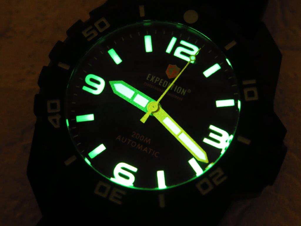 EXPEDITION PROFESSIONAL EQUIPMENT DIVER 200m - BIG SIZE 46mm - AUTOMATIC