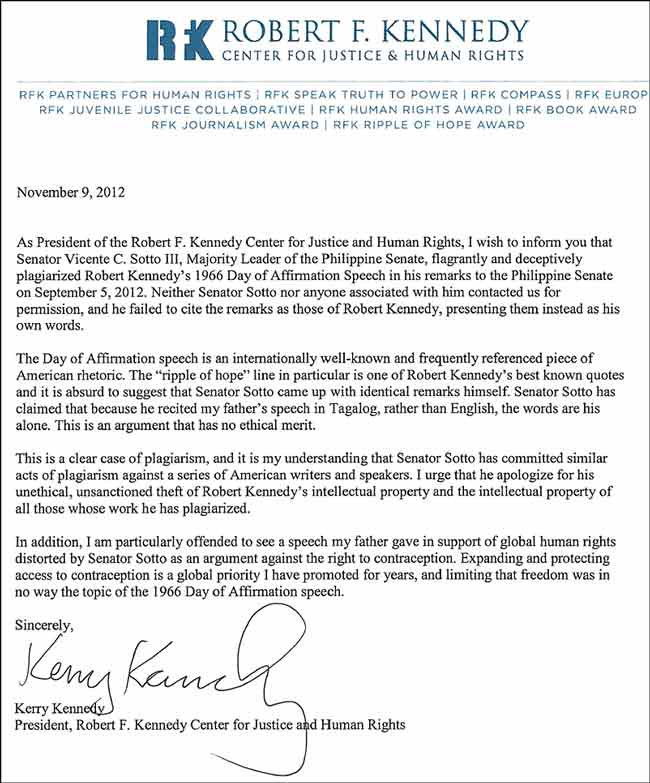 Lyric sincerely lyrics : EZCopy Lyrics: Robert Kennedy's daughter demands an apology from ...