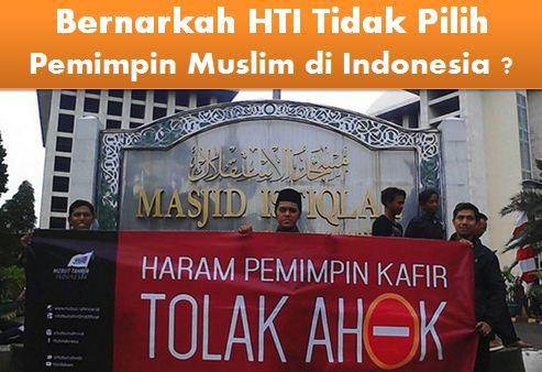 Membuka Kedok HTI yang Ikut-ikutan Demo Menolak Pemimpin Non Muslim