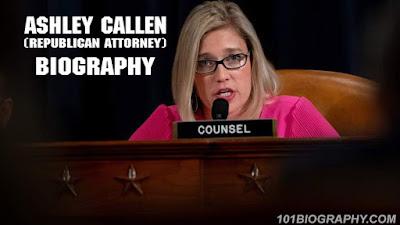 Ashley Callen (Republican attorney) Bio, Wiki, Age, Husband, Net Worth