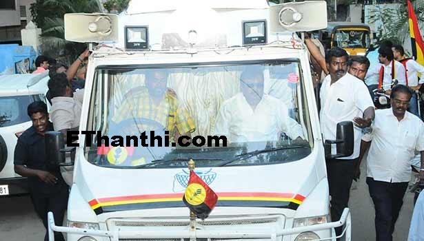 ஸ்டாலினை நம்ப வேண்டாம் - விஜயகாந்த் பேச்சு !